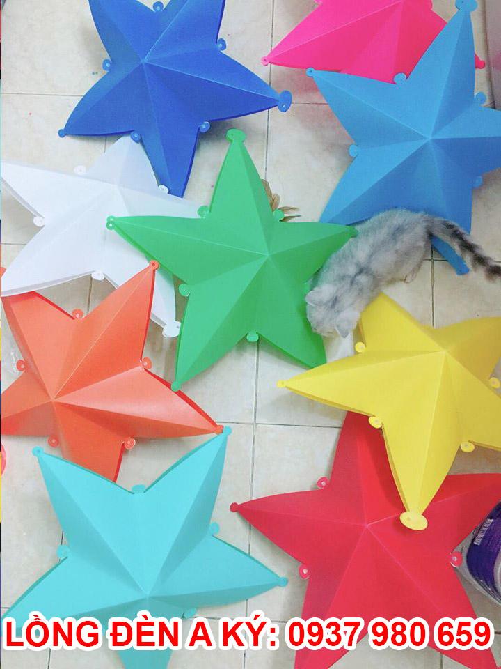đèn ngôi sao bằng nhựa