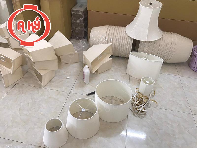 sản xuất chao đèn